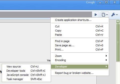 chrome-developer-tools-menu