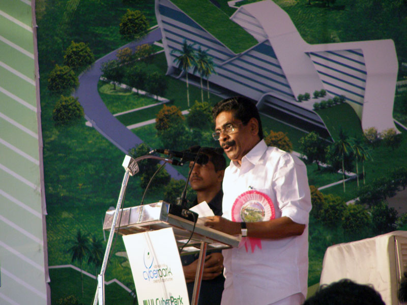 Sri. Mullappally Ramachandran at CyberPark