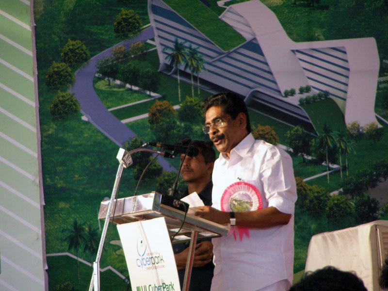 Sri. Mullappally Ramachandran at CyberPark
