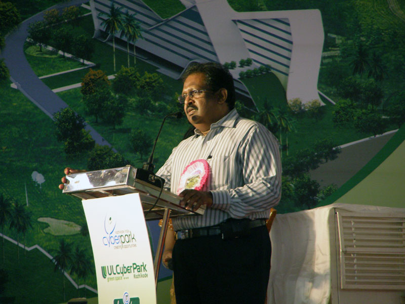 Felicitation at CyberPark