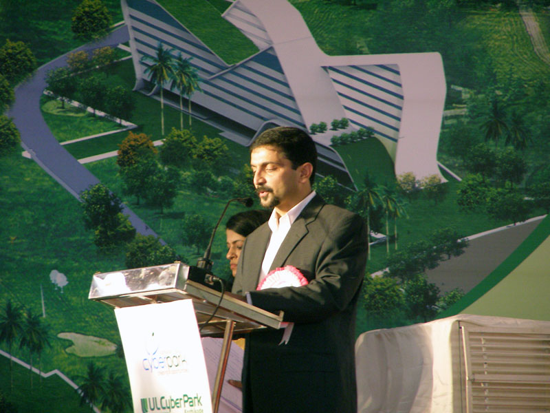 Sri. Binu A Pazhoor, CEO, CyberPark Kozhikode