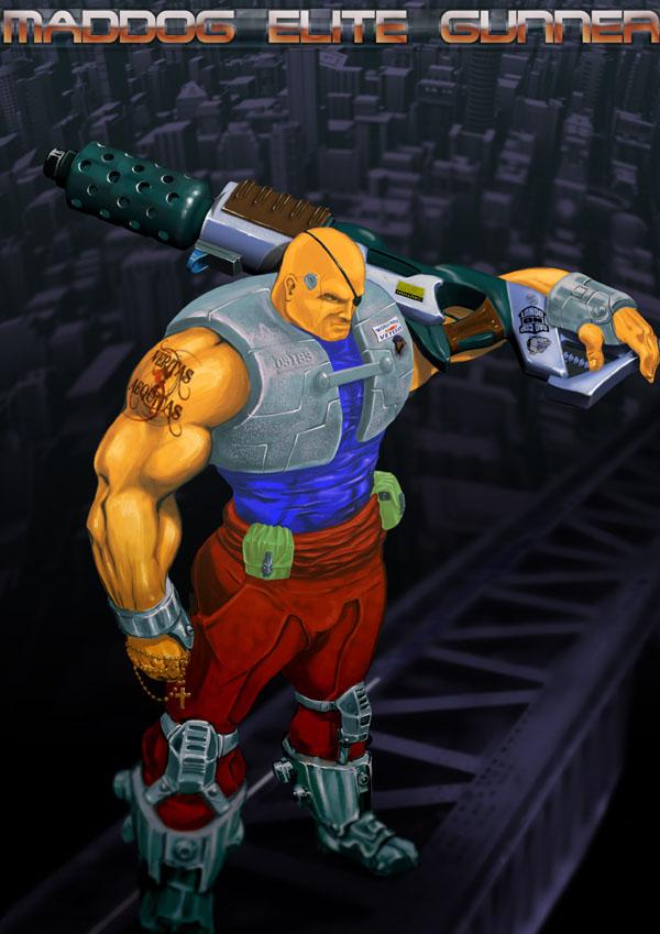 Maddog Elite Gunner by Pankaj