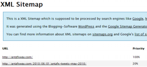 XML sitemap wordpress plugin