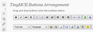 tinyMCE wordpress plugin