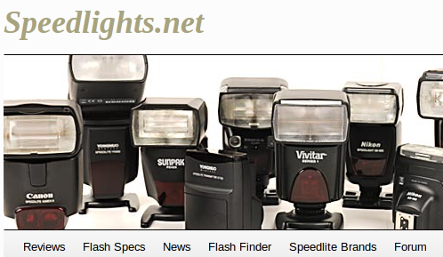 speedlights.net - Camera Flash review site