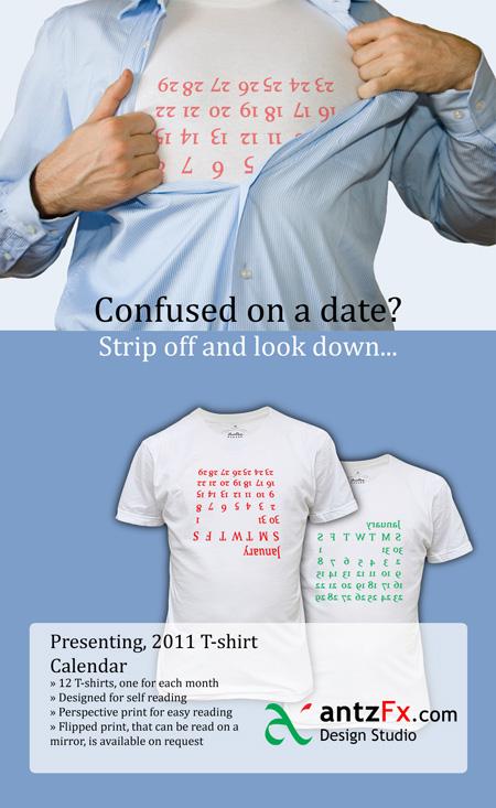 Calendar 2011 Tshirt