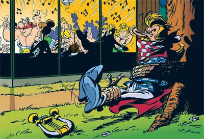 McDonalds Asterix Cacofonix