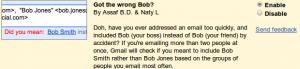 Got the wrong Bob?