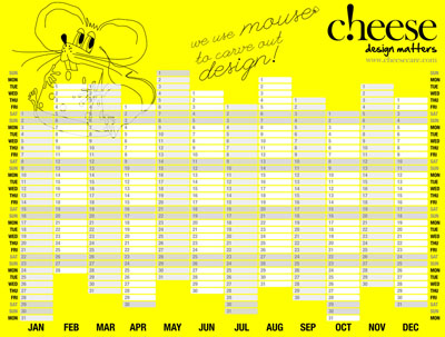 Click to download Year Planner 2011