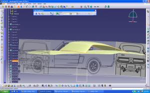 CATIA CAR body