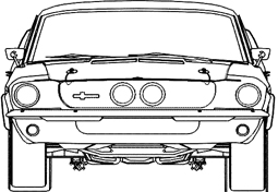 car front reference