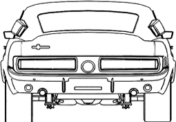 car rear reference