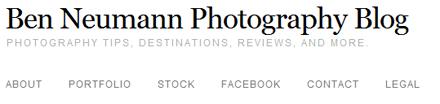 Ben Neumann Photography Blog