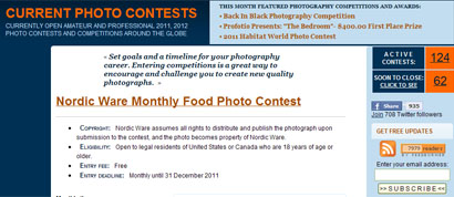 Current Photo Contests