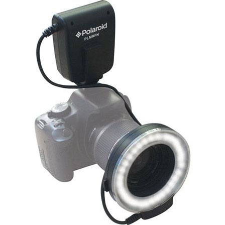 Polaroid TTL LED Macro Ring Flash and Light