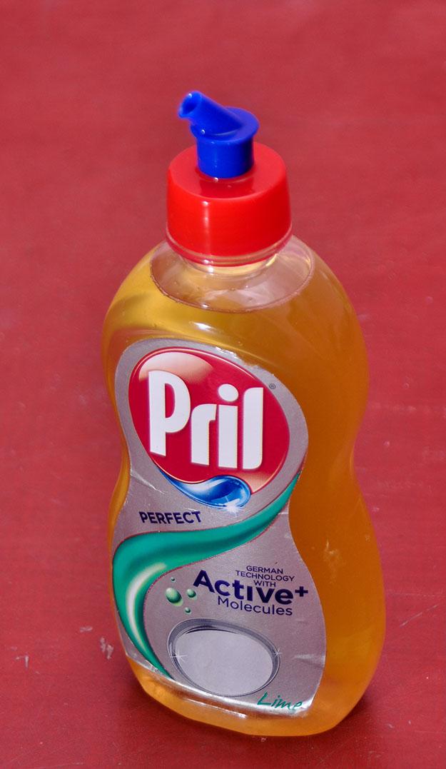 Oil Can using Pril - 01
