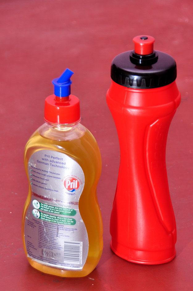 Oil Can using Pril - 03