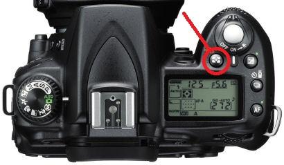 Nikon D90 metering modes