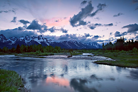 John Pedersen Interview - Teton Sunset-L