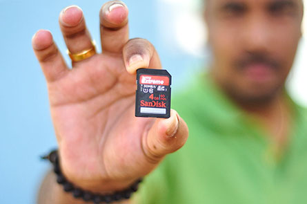 Sandisk Extreme Class 10 4GB SDHC 30MBps card
