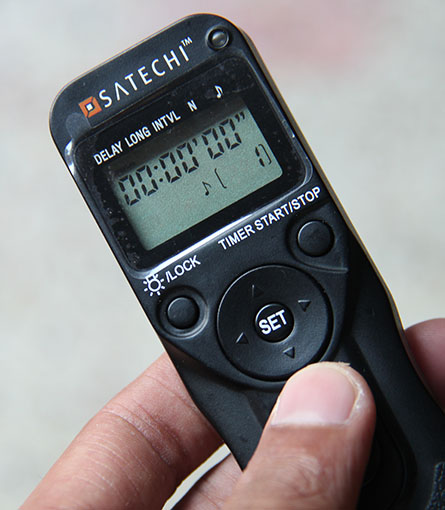 Satechi WTR-M Wireless Timer Remote Shutter for Nikon (9)