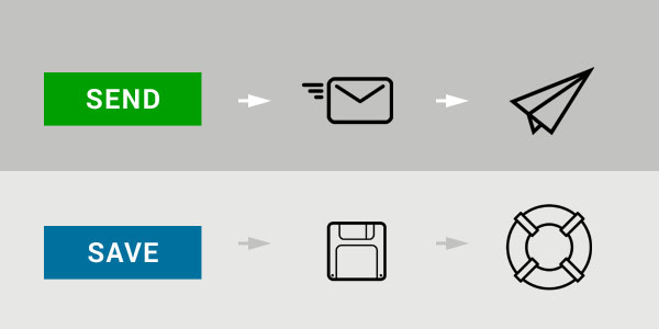 'Send Mail' icons by by Hakan Yalcin and Tony Wallström; 'Save' by Matt Caisley and 'Life buoy' by Stanislav Levin
