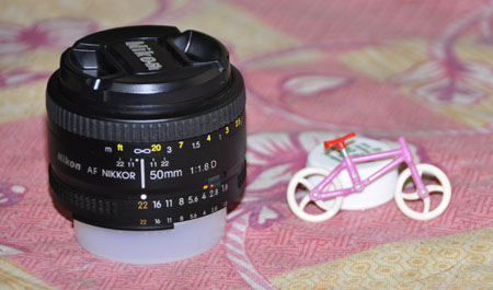 50 mm lens - I didnt know I could do that