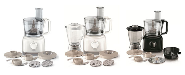Philips Food Processors for vegetable cutting and chopping