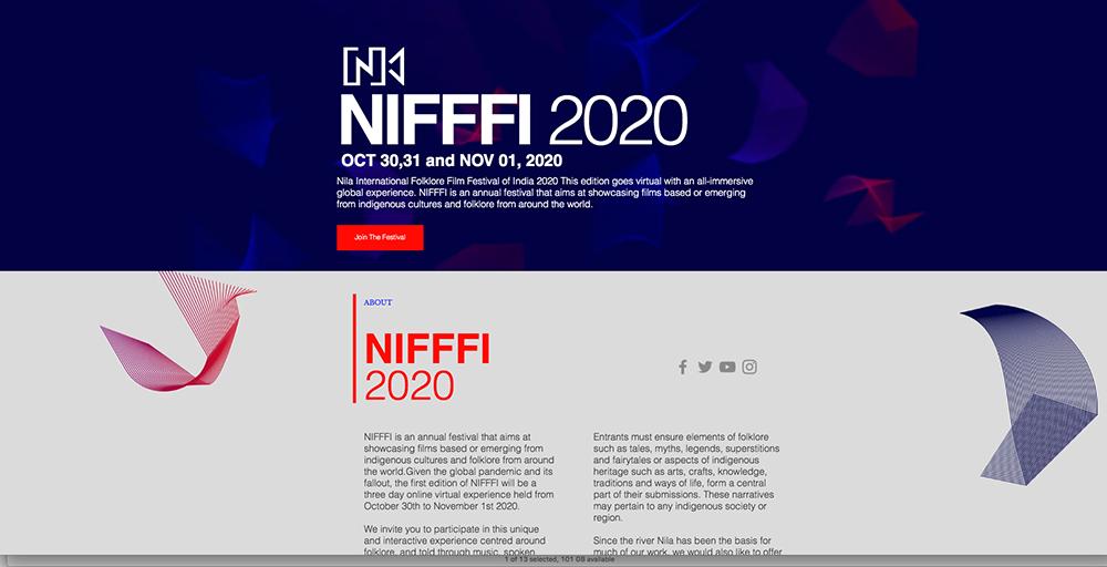 NIFFFI 2020 website
