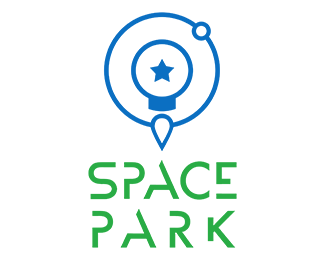 The final version of the Space Park logo