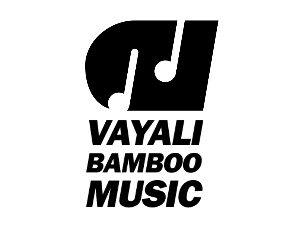 Vayali Bamboo Music logo monochrome version